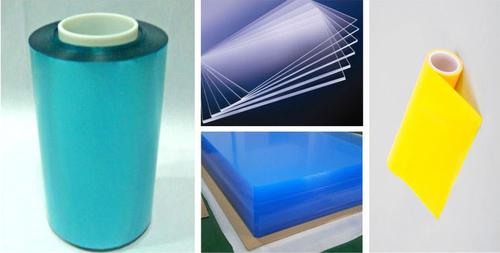 PC、PET、PVC、PMMA、ABS片材表面透明pe自粘保护膜 极低粘性