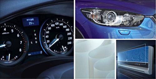 玻璃、高光注塑件、片材的表面透明pe自粘保护膜