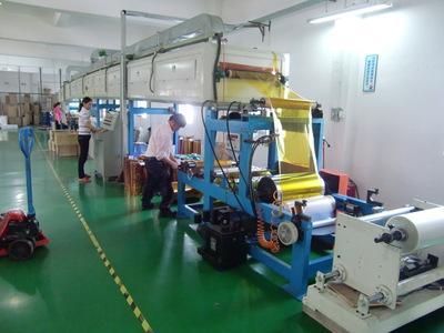 明大集团胶带生产线照片